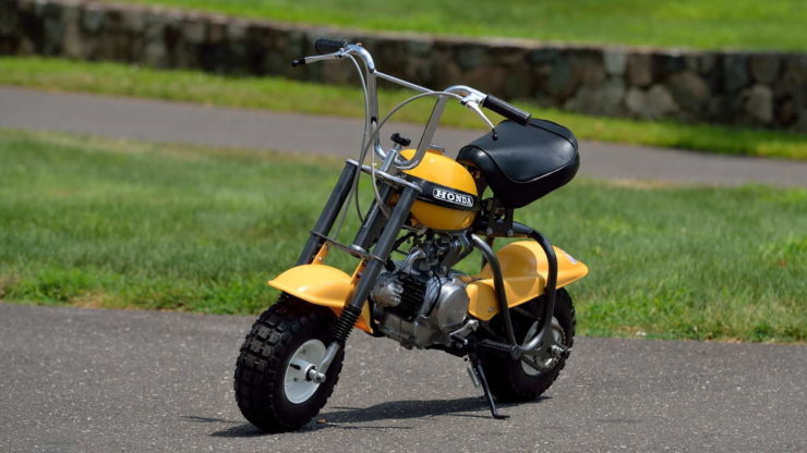 Honda QA50 KO Minibike Front