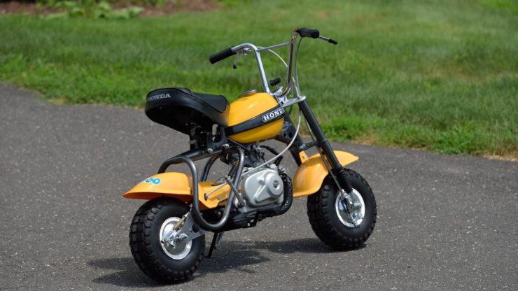 Honda QA50 KO Minibike Rear