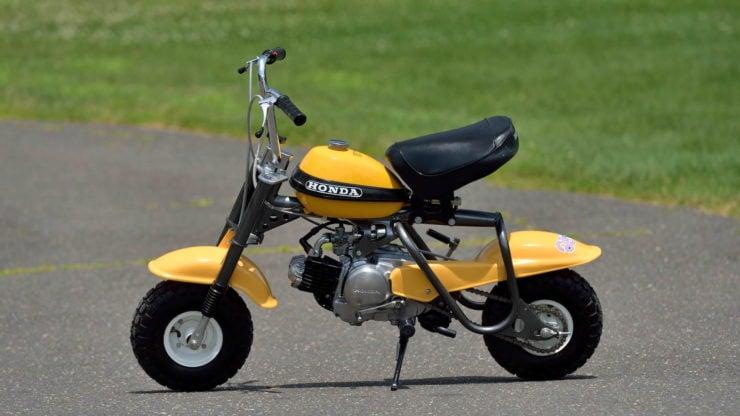 Honda QA50 KO Minibike Side