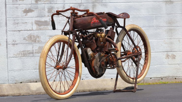 Indian 8-Valve Twin Board Track Racer Front 2