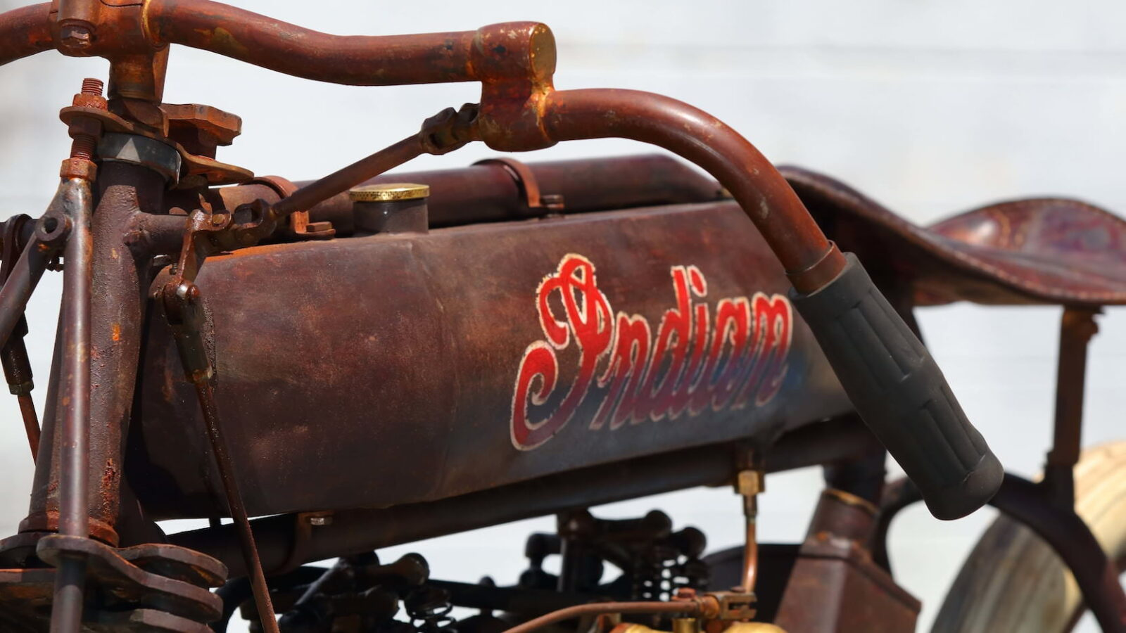 Indian 8-Valve Twin Board Track Racer Fuel Tank