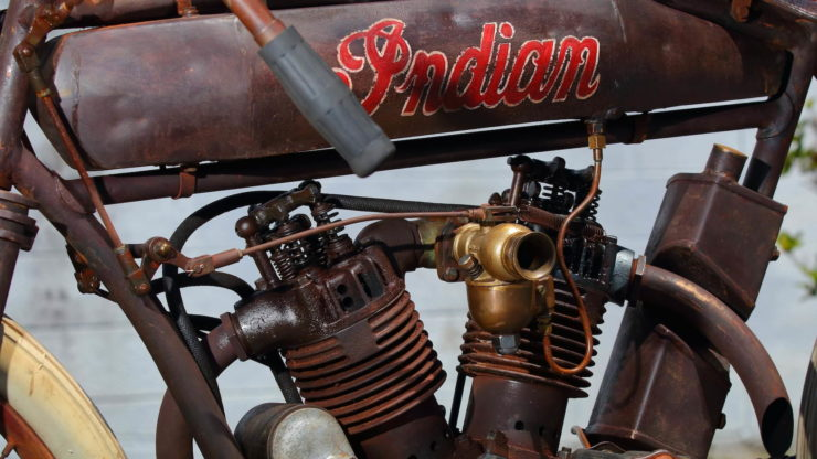 Indian 8-Valve Twin Board Track Racer Rockers