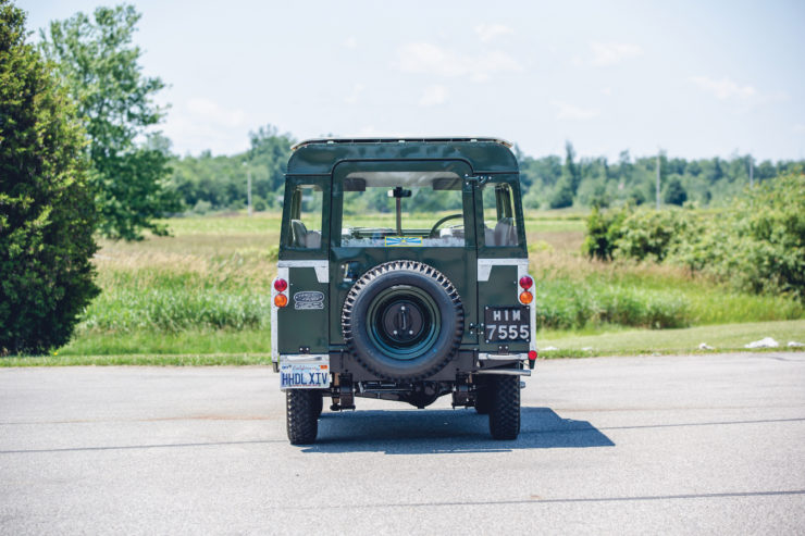 Land Rover Series 2A Back 2