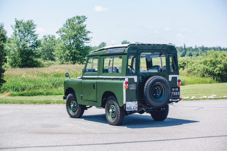 Land Rover Series 2A Back