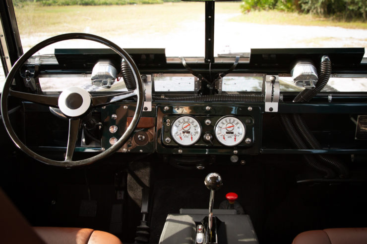 Land Rover Series 2A Corvette V8 Engine Dashboard