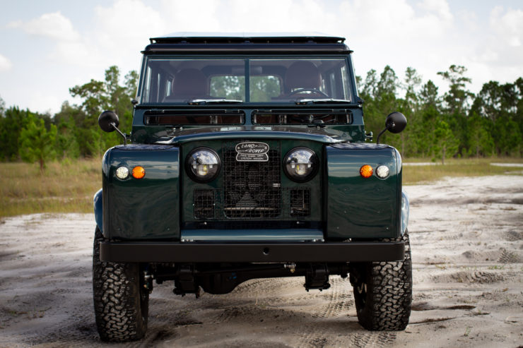 Land Rover Series 2A Corvette V8 Engine Front End