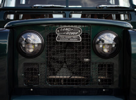 Land Rover Series 2A Corvette V8 Engine Grille
