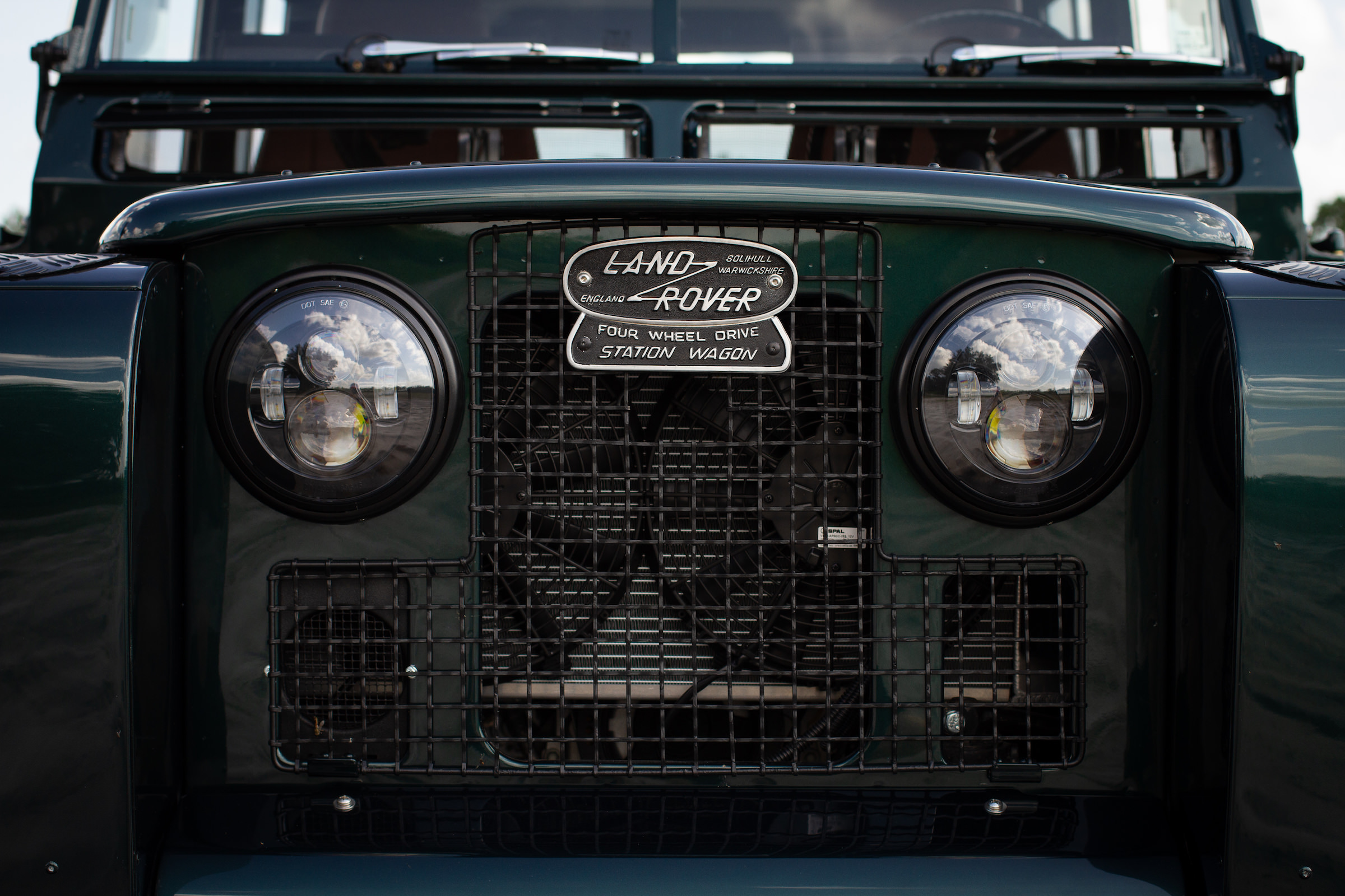 Land Rover Series 2A Corvette V8 Engine Grille