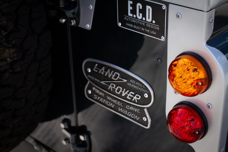 Land Rover Series 2A Corvette V8 Engine Taillight