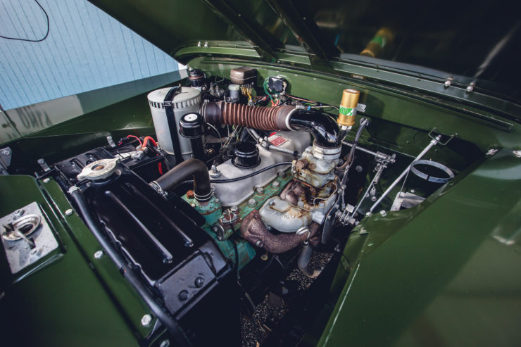 Land Rover Series 2A Engine 2