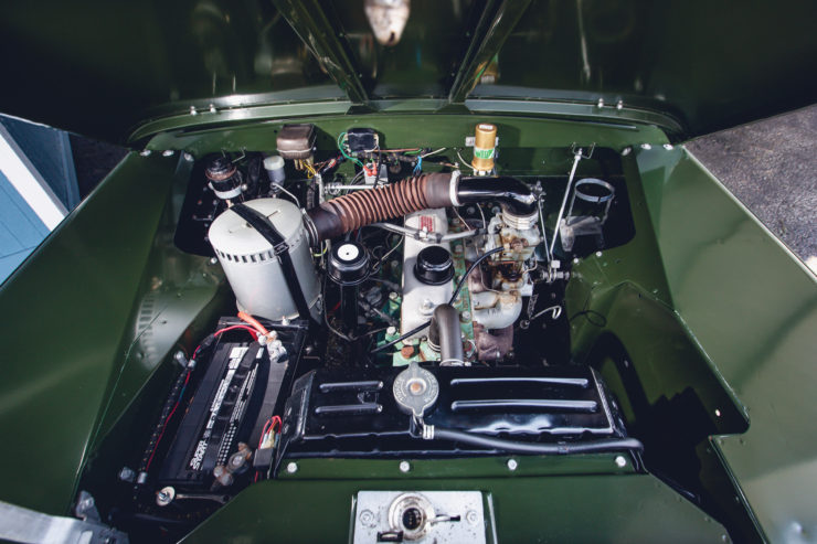 Land Rover Series 2A Engine