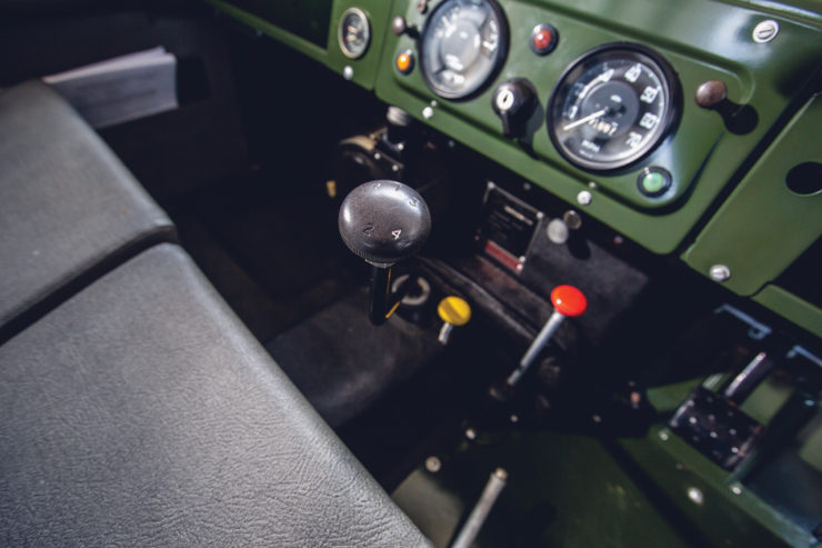 Land Rover Series 2A Gear Lever