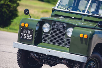 Land Rover Series 2A Grille