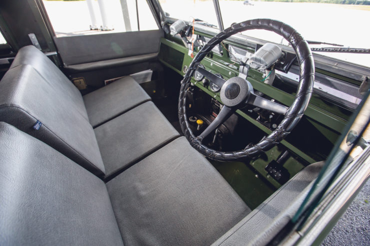 Land Rover Series 2A Interior
