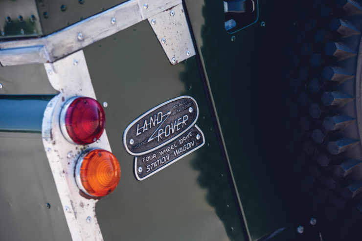 Land Rover Series 2A Tail Lights