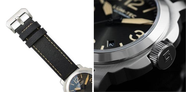 Lum-Tec M82 Swiss Automatic Watch Corner