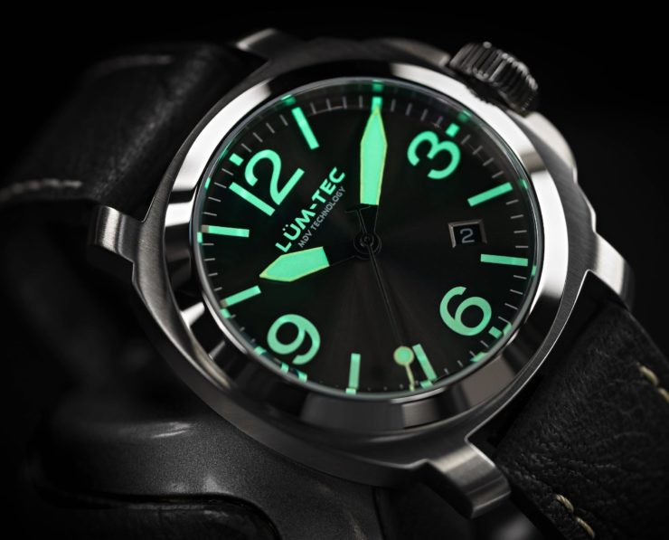 Lum-Tec M82 Swiss Automatic Watch Night