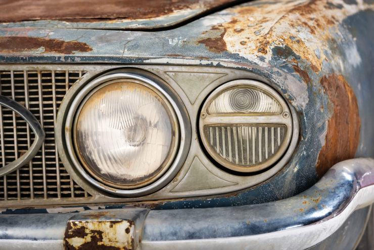 Maserati 5000 GT Headlight