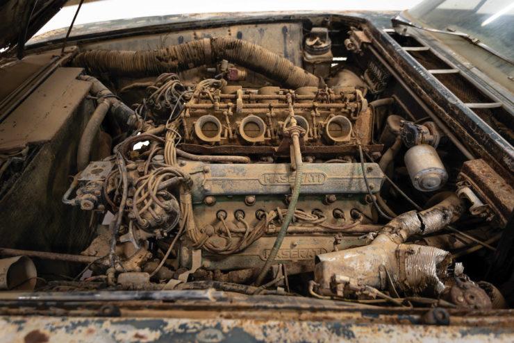 Maserati 5000 GT V8 Engine