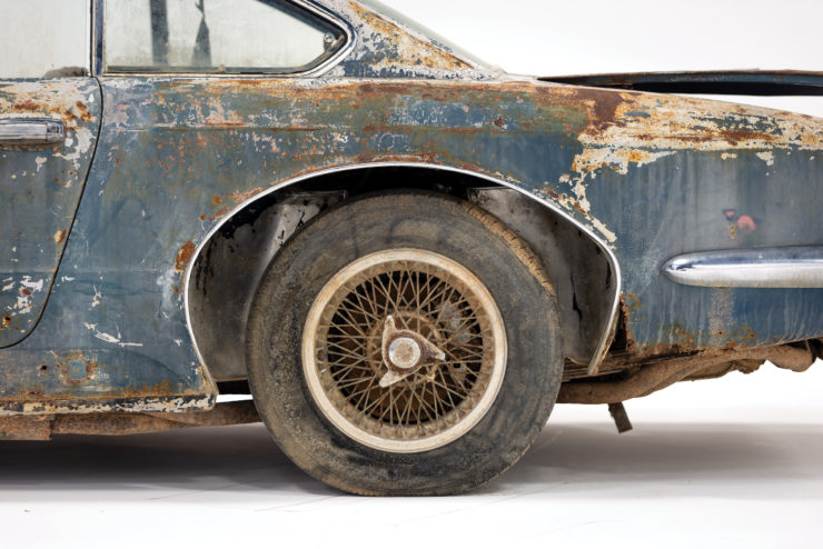 Maserati 5000 GT Wire Wheels