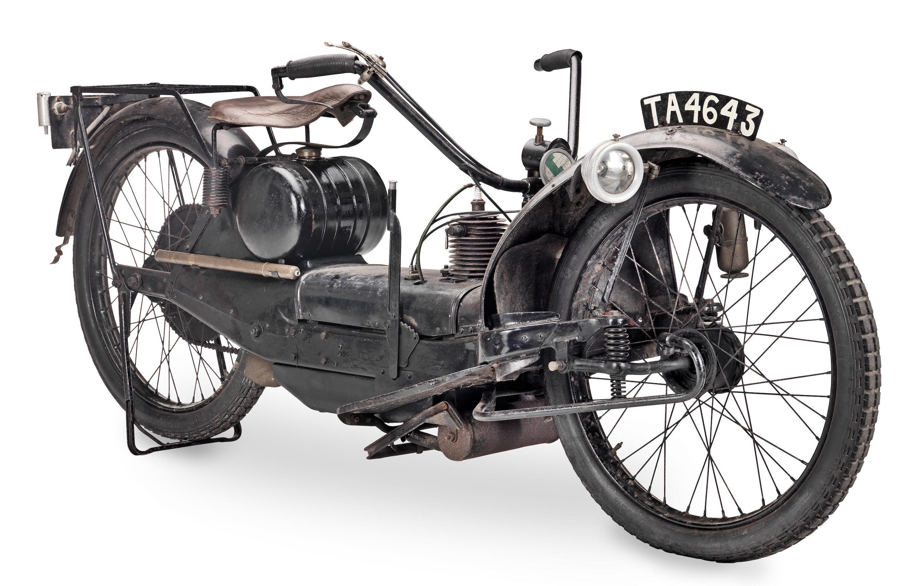 The Unusual Ner-a-Car Motorcycle -