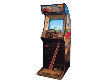 Out Run Arcade Game