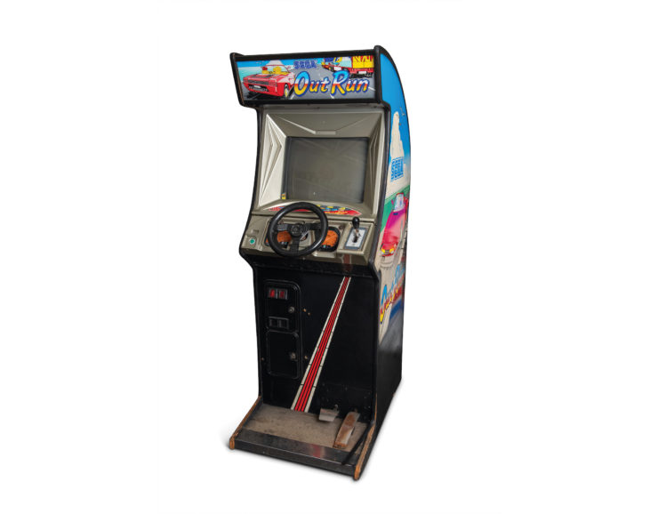 Out Run Arcade Game Off