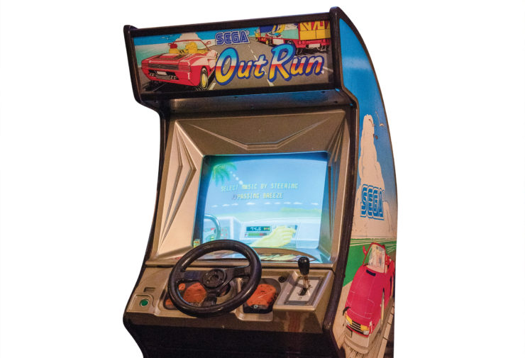 Out Run Arcade Game Screen