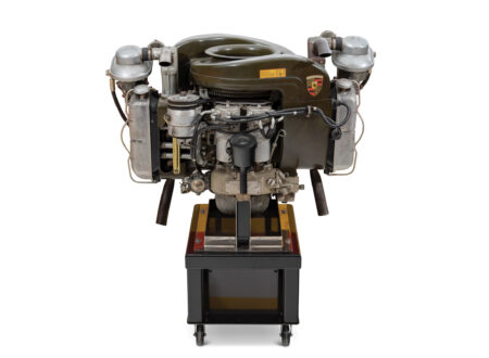 Porsche Helicopter Engine
