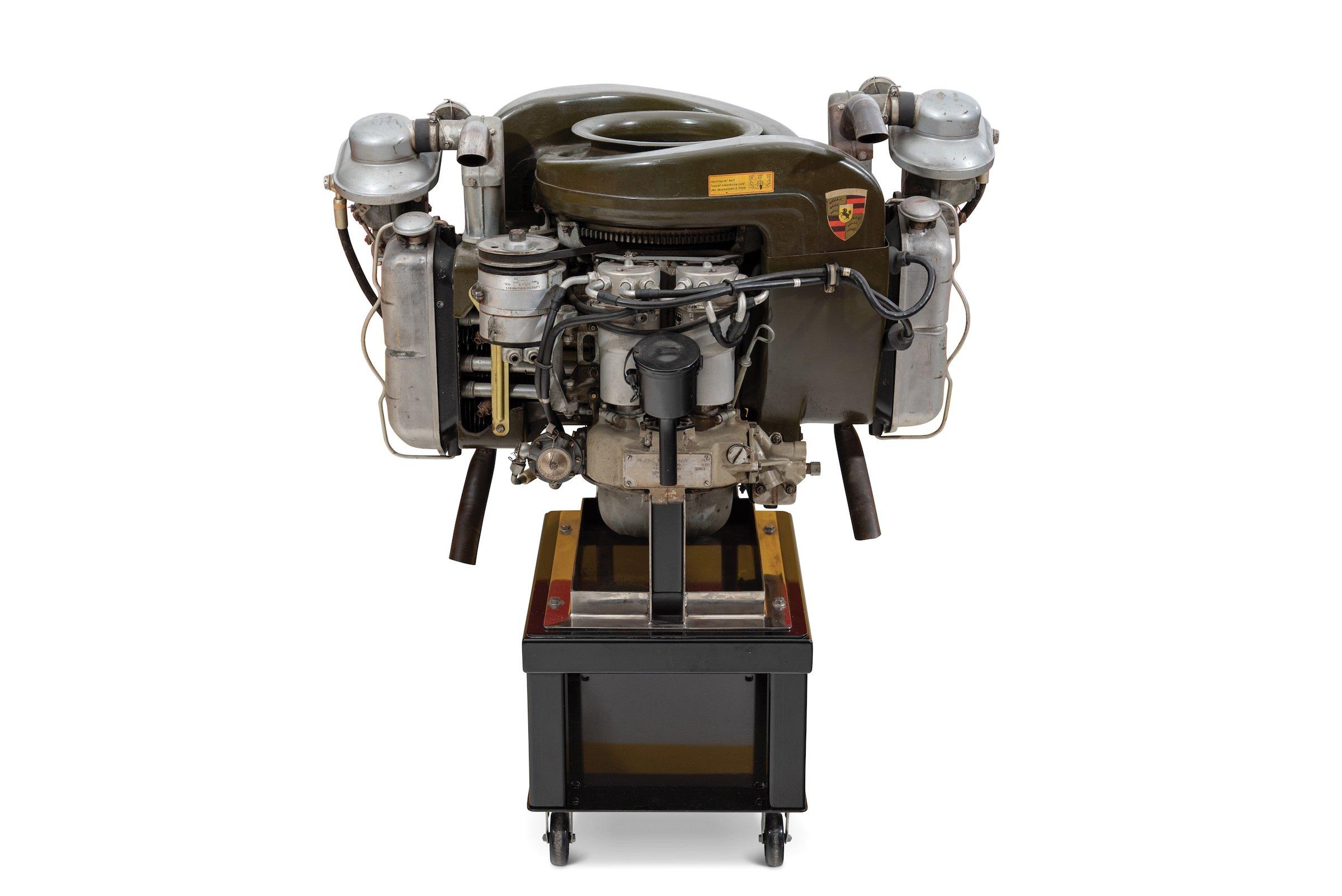 Porsche Helicopter Engine