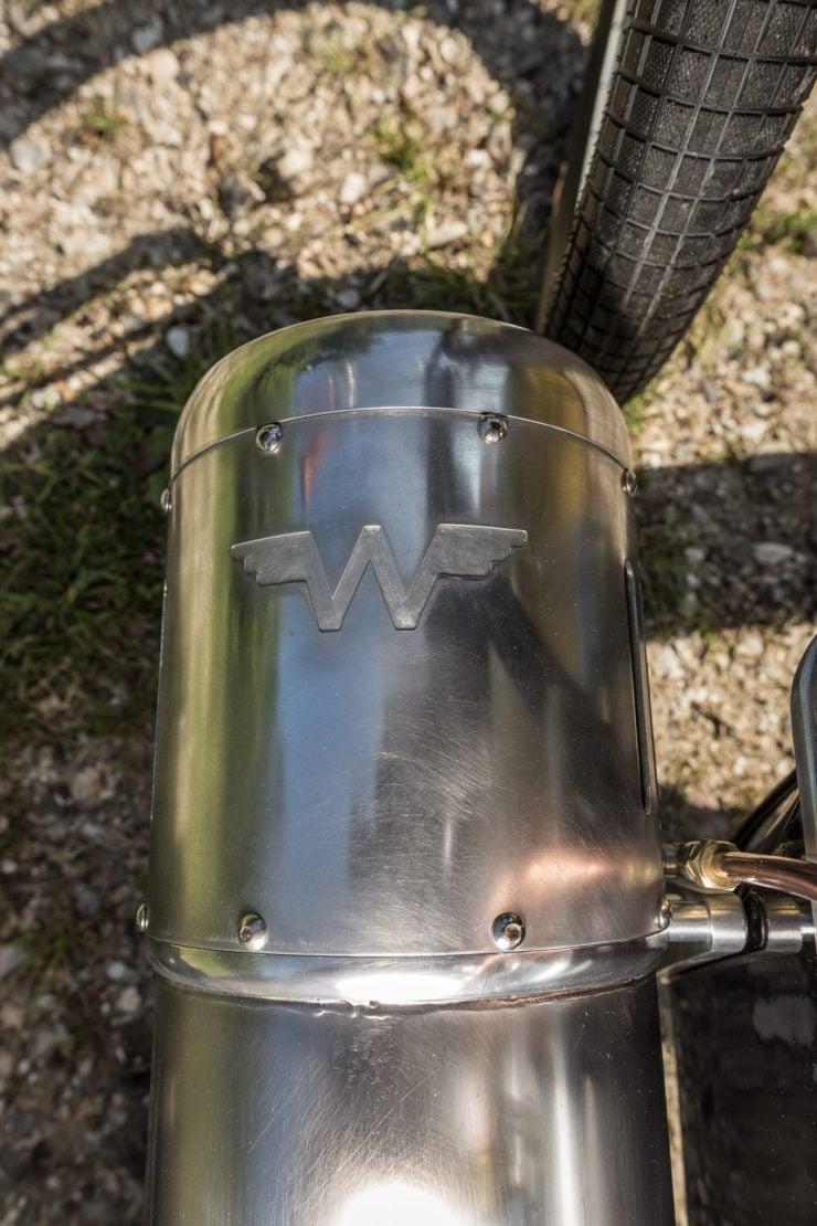 Pulsejet Motorcycle Fender