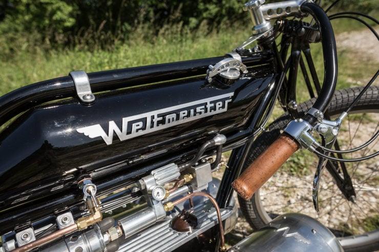 Pulsejet Motorcycle Fuel Tank