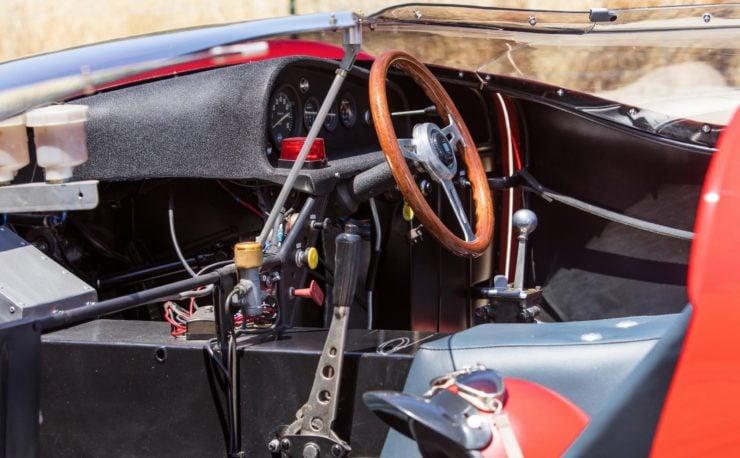 Shelby De Tomaso P70 Interior 2