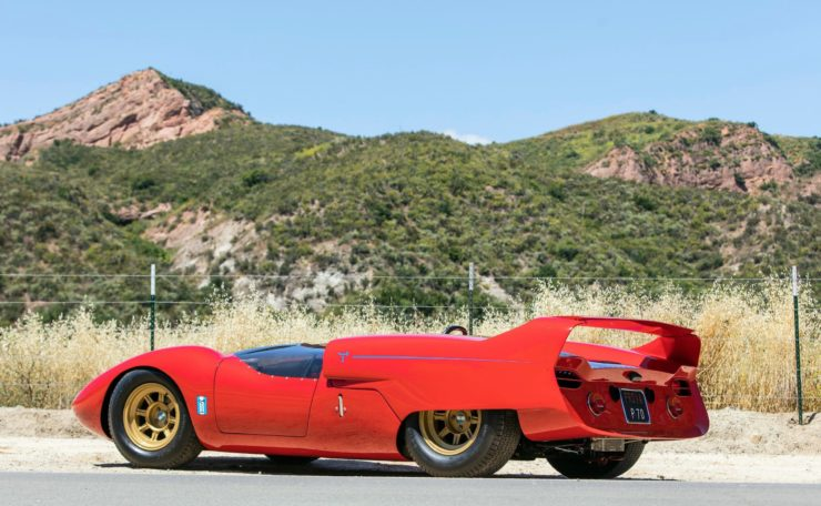 Shelby De Tomaso P70 Rear Side