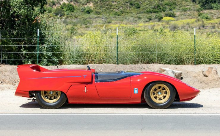 Shelby De Tomaso P70 Side 2