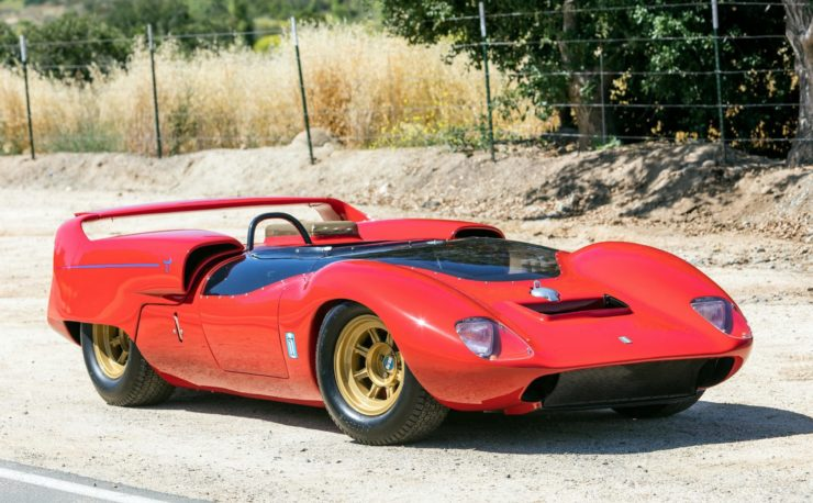Shelby De Tomaso P70 Side