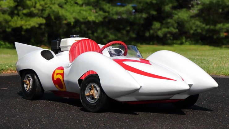 Speed Racer Mach 5 Go-Kart 3