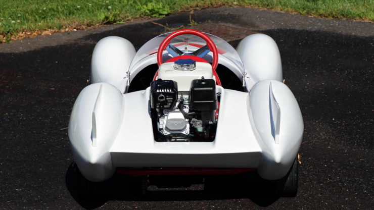 Speed Racer Mach 5 Go-Kart Back