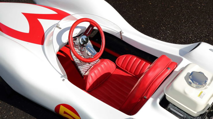 Speed Racer Mach 5 Go-Kart Cockpit