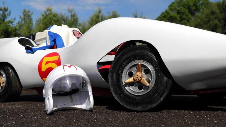 Speed Racer Mach 5 Go-Kart Helmet