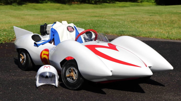 Speed Racer Mach 5 Go-Kart Helmet and Suit