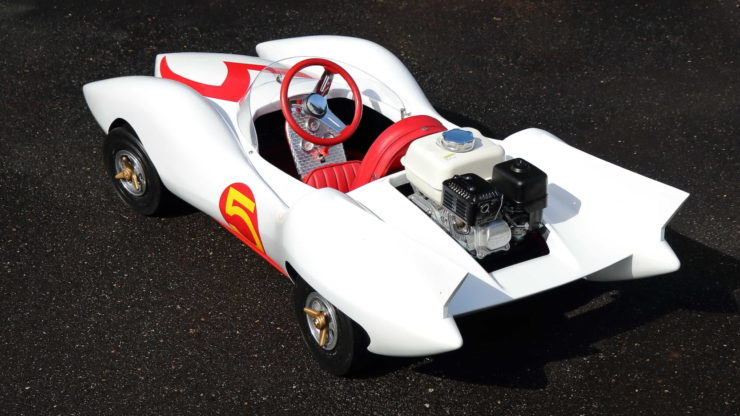 Speed Racer Mach 5 Go-Kart Rear