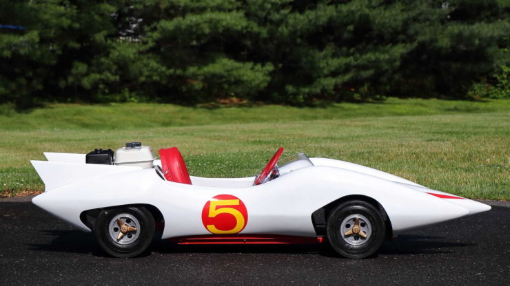 Speed Racer Mach 5 Go-Kart Side 2