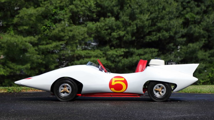 Speed Racer Mach 5 Go-Kart Side