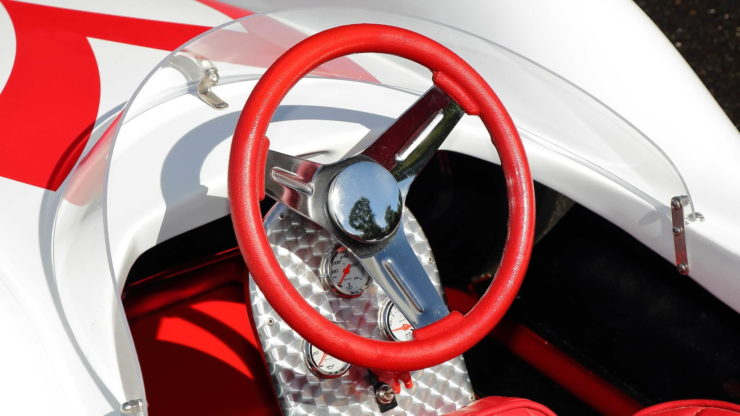 Speed Racer Mach 5 Go-Kart Steering Wheel