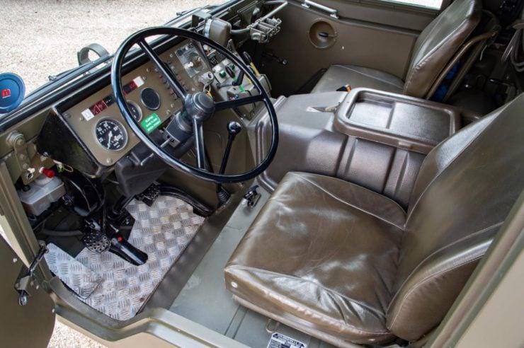 Steyr-Daimler-Puch Pinzgauer 4x4 Interior 2