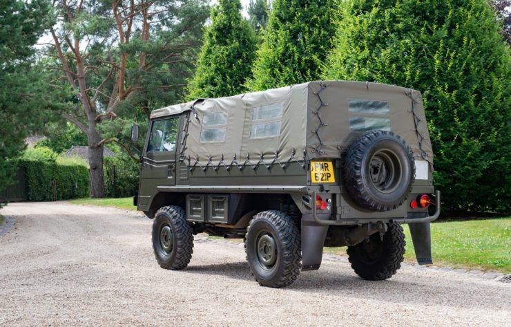 Steyr-Daimler-Puch Pinzgauer 4x4 Rear