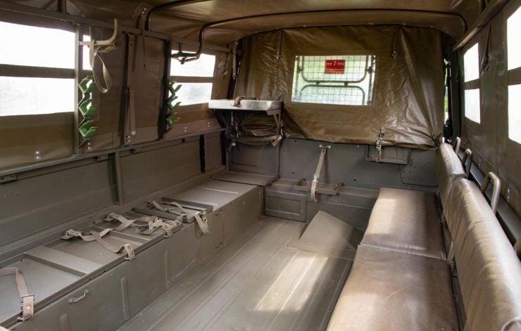 Steyr-Daimler-Puch Pinzgauer 4x4 Rear Cargo Bay