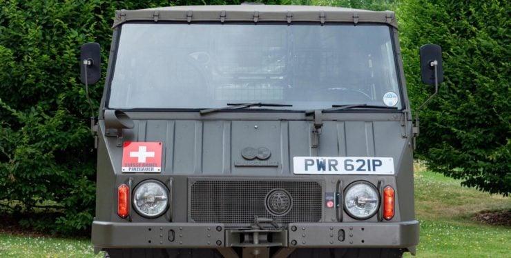 Steyr-Daimler-Puch Pinzgauer 4x4 Windshield