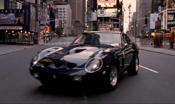 Tom Cruise Vanilla Sky Ferrari 250 GTO New York